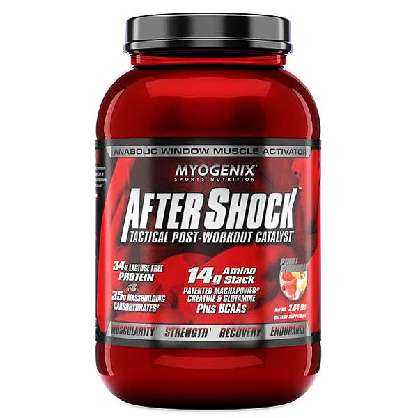 Myogenix AfterShock Tactical Post-Workout Catalyst