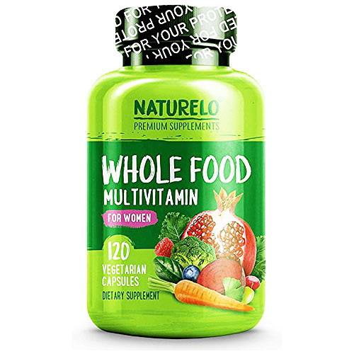 NATURELO's Whole Food Multivitamin for Women